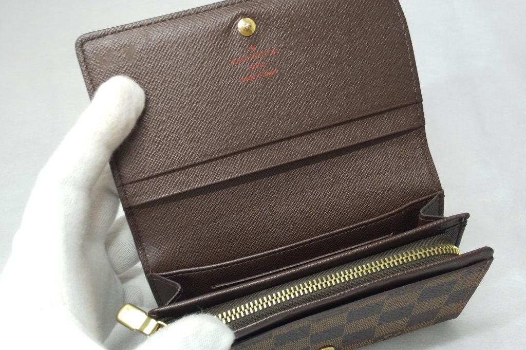 ルイヴィトン ダミエ 財布
